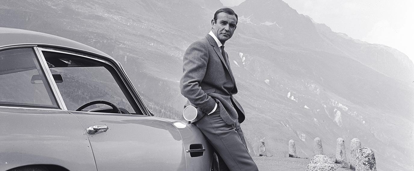 James Bond-Autos und Männer mit Stil - zwei unvergessliche Klassiker