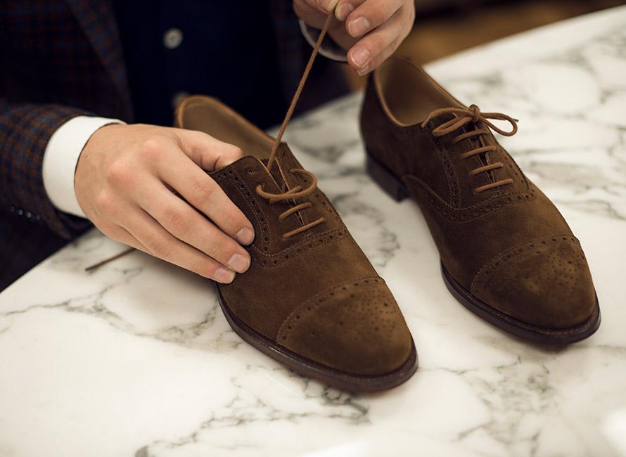4 sätt att snöra skorna på