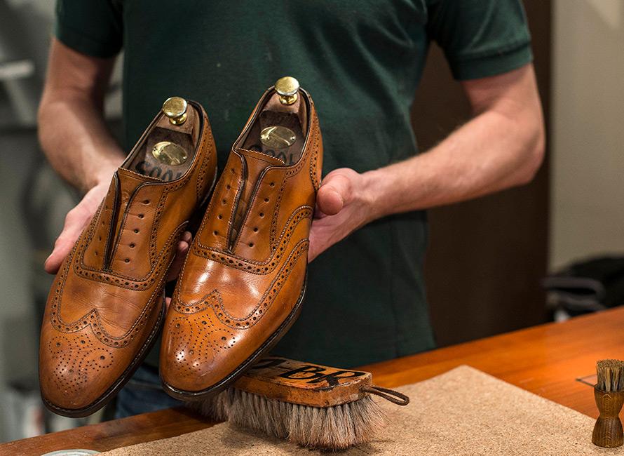 Richtige Schuhpflege - So geht's