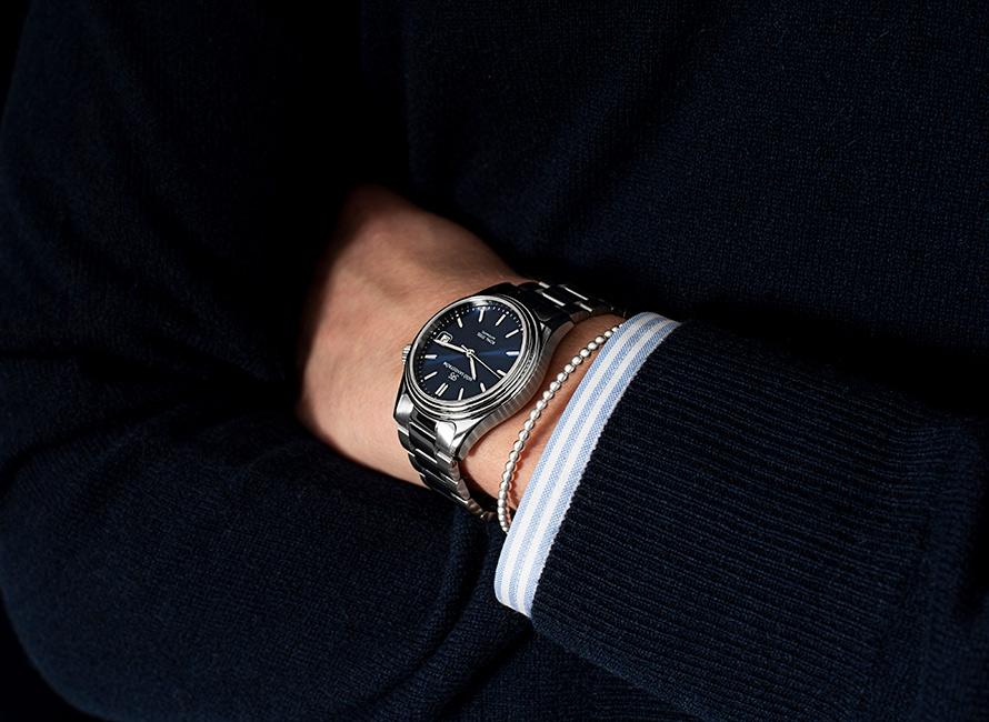Är klockan det enda smycket en man kan bära?