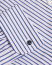 Stenströms Slimline Striped Double Cuff Shirt White/Blue