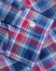 Polo Ralph Lauren Slim Fit Check Poplin Shirt Brick Red/Navy
