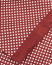 Eton Silk Printed Dot Scarf Wine Red