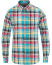 Barbour Lifestyle Tailored Fit Madras 2 Shirt Aqua