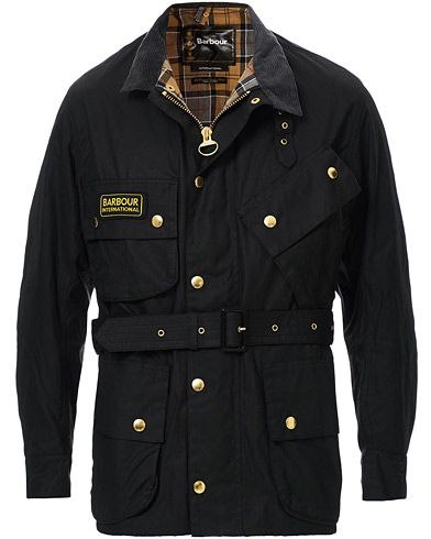 Barbour International Original Jacket Black i gruppen Kläder / Jackor / Vaxade jackor hos Care of Carl (10004111r)
