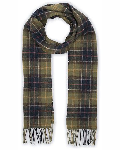 Barbour Lifestyle Tartan Lambswool Scarf Classic i gruppen Accessoarer / Halsdukar hos Care of Carl (10005410)