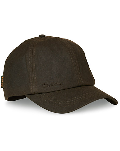 Barbour Lifestyle Wax Sports Hat Olive i gruppen Accessoarer / Hattar & kepsar / Kepsar hos Care of Carl (10005710)