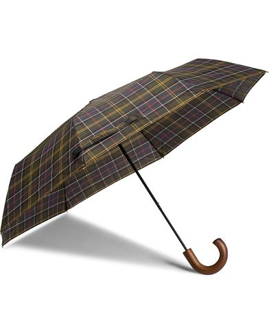 Barbour Lifestyle Classic Telescopic Umbrella Tartan  i gruppen Accessoarer / Paraplyer hos Care of Carl (10005910)