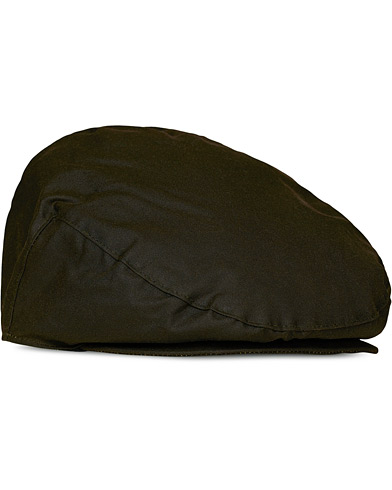 Barbour Lifestyle Classic Wax Cap Sylkoil Olive i gruppen Accessoarer / Hattar & kepsar / Gubbkepsar hos Care of Carl (10047011r)