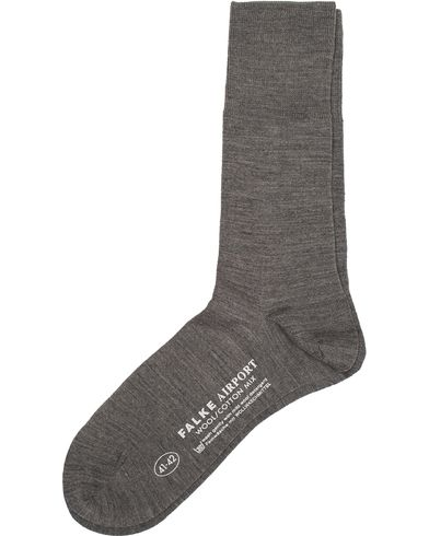 Falke Airport Socks Grey Melange