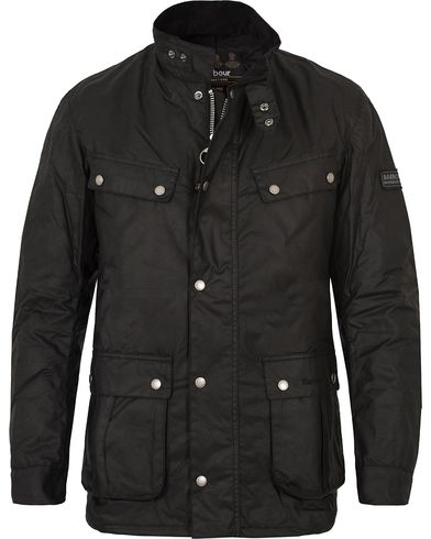 Barbour International Duke Jacket Black i gruppen Kläder / Jackor / Vaxade jackor hos Care of Carl (10223211r)
