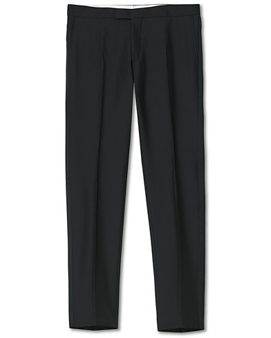 Oscar Jacobson Devon Tuxedo Trousers Black i gruppen Kläder / Byxor / Smokingbyxor hos Care of Carl (10235011r)