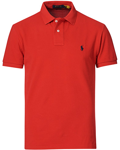 Polo Ralph Lauren Slim Fit Polo Red i gruppen Kläder / Pikéer hos Care of Carl (10288611r)