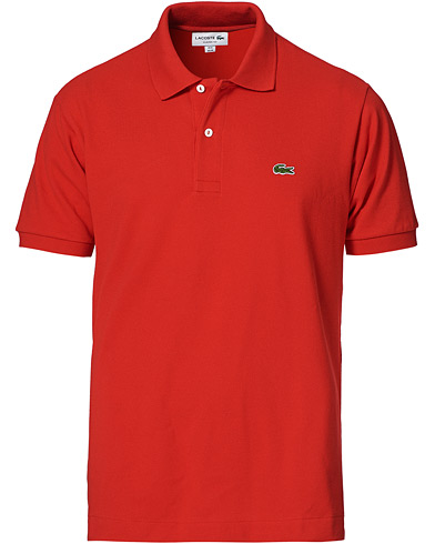 Lacoste Original Polo Piké Red i gruppen Kläder / Pikéer hos Care of Carl (10298711r)