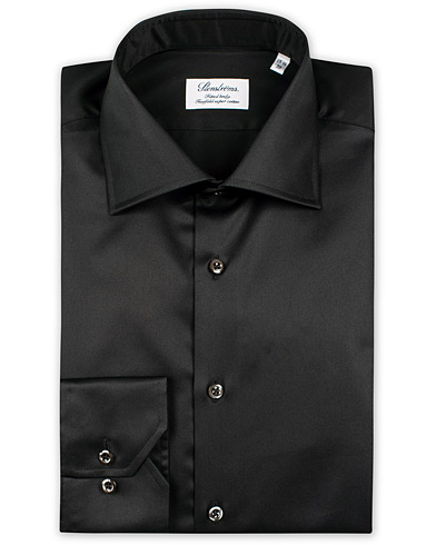 Stenströms Fitted Body Shirt Black i gruppen Kläder / Skjortor / Formella / Businesskjortor hos Care of Carl (10355111r)