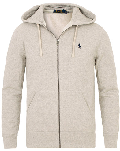 Polo Ralph Lauren Full Zip Hood Light Sport Heather i gruppen Kläder / Tröjor / Huvtröjor hos Care of Carl (10507811r)