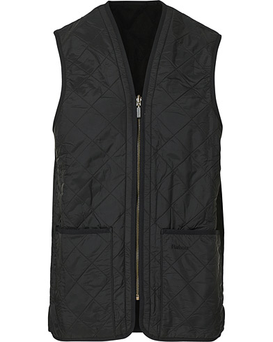 Barbour Lifestyle Quilt Waistcoat/Zip-In Liner Black i gruppen Kläder / Västar hos Care of Carl (10509811r)