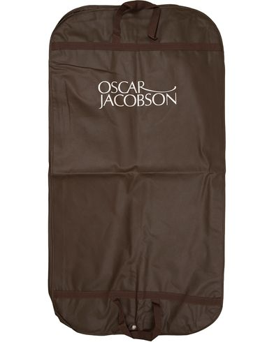 Oscar Jacobson Suit Cover Brown i gruppen Accessoarer / Väskor / Kostymfodral hos Care of Carl (10516110)