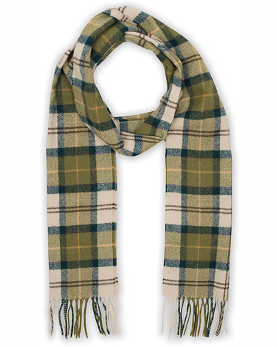 Barbour Lifestyle Tartan Lambswool Scarf Ancient i gruppen Accessoarer / Halsdukar hos Care of Carl (10535410)