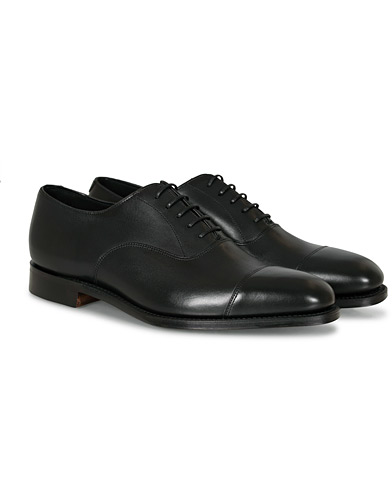 Loake 1880 Aldwych Oxford Black Calf i gruppen Skor / Oxfords hos Care of Carl (10629611r)