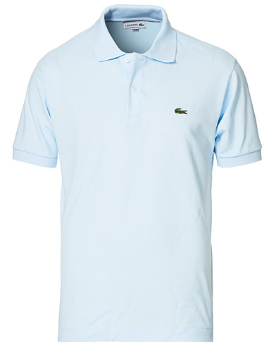 Lacoste Original Polo Piké Rill Light Blue i gruppen Kläder / Pikéer hos Care of Carl (10666611r)