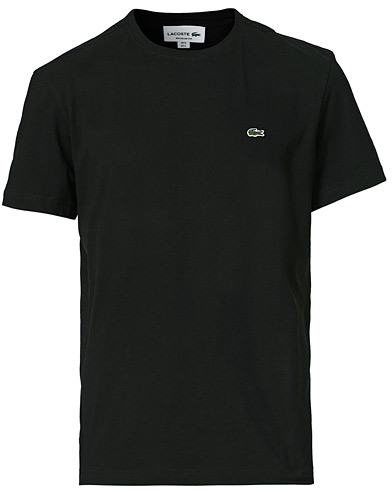 Lacoste T-Shirt Black i gruppen Kläder / T-Shirts / Kortärmade t-shirts hos Care of Carl (10668011r)