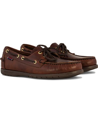Sebago Endeavor Boat Shoe Brown i gruppen Skor / Seglarskor hos Care of Carl (10724211r)