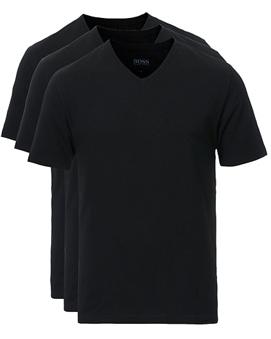 BOSS 3-Pack V-Neck T-Shirt Black i gruppen Kläder / T-Shirts hos Care of Carl (10786311r)