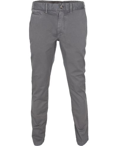 Morris New Slim Chino Grey i gruppen Kläder / Byxor / Chinos hos Care of Carl (10835711r)