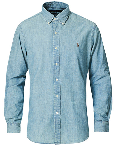 Polo Ralph Lauren Core Fit Shirt Chambray Washed i gruppen Kläder / Skjortor / Casual / Jeansskjortor hos Care of Carl (10976411r)
