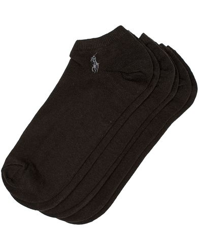 Polo Ralph Lauren 3-Pack Ghost Sock Black  i gruppen Kläder / Underkläder / Strumpor hos Care of Carl (10981010)