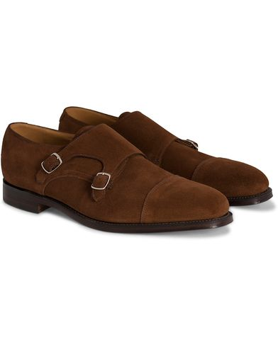 Loake 1880 Cannon Monkstrap Polo Suede i gruppen Skor / Munkskor hos Care of Carl (10995911r)