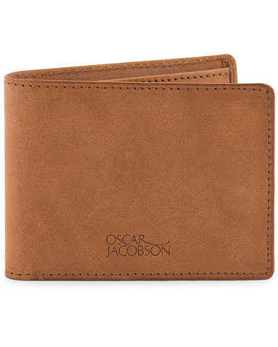 Oscar Jacobson Leather Wallet Tan  i gruppen Accessoarer / Plånböcker hos Care of Carl (10998210)
