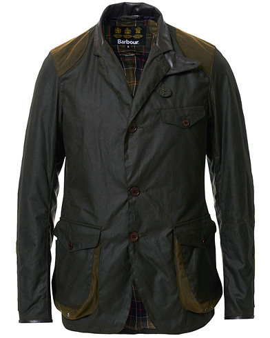 Barbour Lifestyle Beacon Sports Jacket Olive i gruppen Kläder / Jackor / Vaxade jackor hos Care of Carl (11008611r)