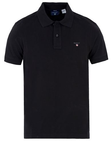 GANT The Original Polo Black i gruppen Kläder / Pikéer hos Care of Carl (11138811r)