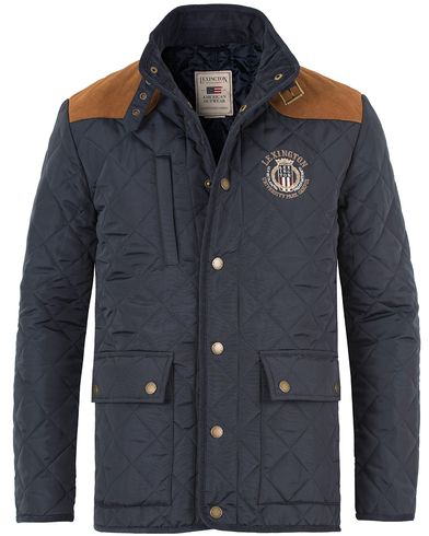 Lexington David Jacket Deepest Blue i gruppen Kläder / Jackor / Quiltade jackor hos Care of Carl (11237111r)