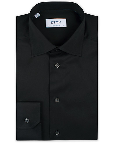 Eton Contemporary Fit Shirt Black i gruppen Kläder / Skjortor / Formella / Formella skjortor hos Care of Carl (11273711r)