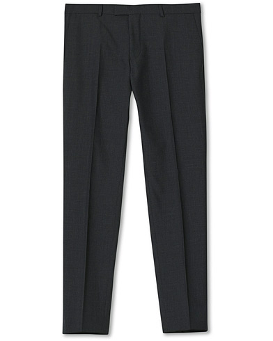 Oscar Jacobson Damien Trousers Super 120's Wool Grey i gruppen Kläder / Byxor / Kostymbyxor hos Care of Carl (11279211r)