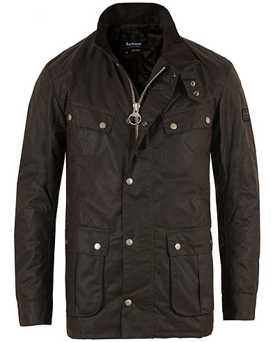 Barbour International Duke Jacket Rustic i gruppen Kläder / Jackor / Vaxade jackor hos Care of Carl (11498911r)