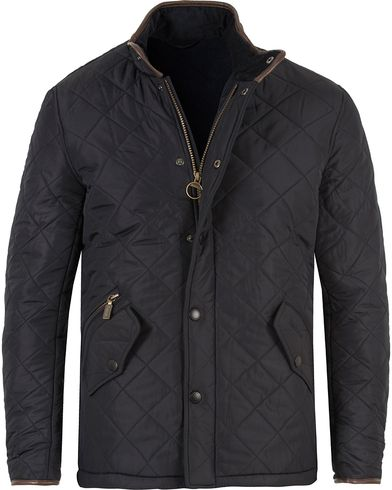 Barbour Lifestyle Powell Quilted Jacket Navy i gruppen Kläder / Jackor / Quiltade jackor hos Care of Carl (11499511r)