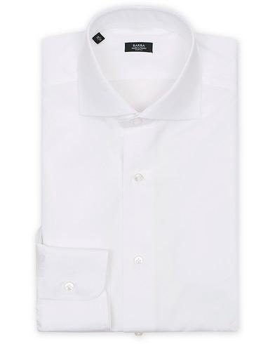 Barba Napoli Slim Fit Shirt White