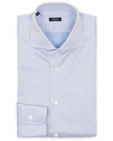 Barba Napoli Slim Fit Shirt Light Blue i gruppen Kläder / Skjortor / Formella / Businesskjortor hos Care of Carl (11511511r)