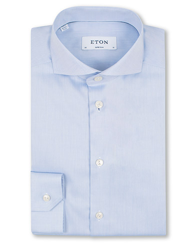 Eton Super Slim Fit Shirt Blue i gruppen Kläder / Skjortor / Formella / Businesskjortor hos Care of Carl (11615411r)