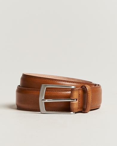 Loake 1880 Henry Leather Belt 3,3 cm Tan