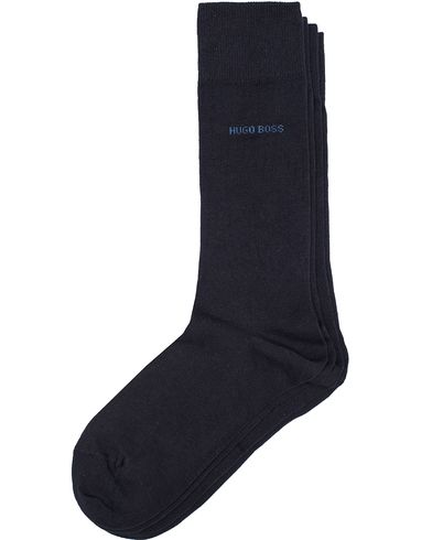 BOSS 2-Pack RS Uni Socks Dark Blue i gruppen Kläder / Underkläder / Strumpor hos Care of Carl (11946911r)