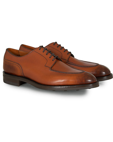 Edward Green Dover Split Toe Derby Chestnut i gruppen Skor / Derbys hos Care of Carl (12004011r)