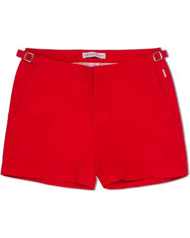Orlebar Brown Setter Short Length Swim Shorts Rescue Red i gruppen Kläder / Badbyxor hos Care of Carl (12282511r)