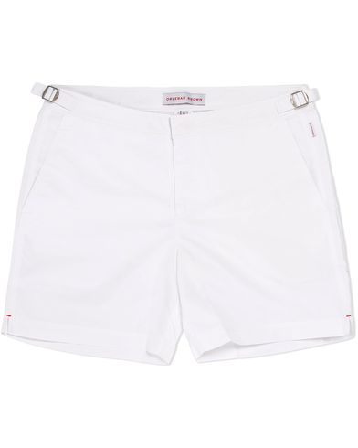 Orlebar Brown Bulldog Medium Length Swim Shorts White i gruppen Kläder / Badbyxor hos Care of Carl (12282811r)