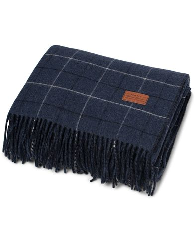 GANT Home Ellington Check Plaid Navy  i gruppen Julklappstips / Till hemmet hos Care of Carl (12300610)