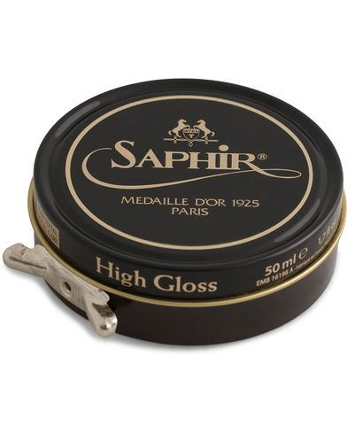 Saphir Medaille d'Or Pate De Lux 50 ml Dark Brown  i gruppen Skor / Skovård / Skovårdsprodukter hos Care of Carl (12306510)